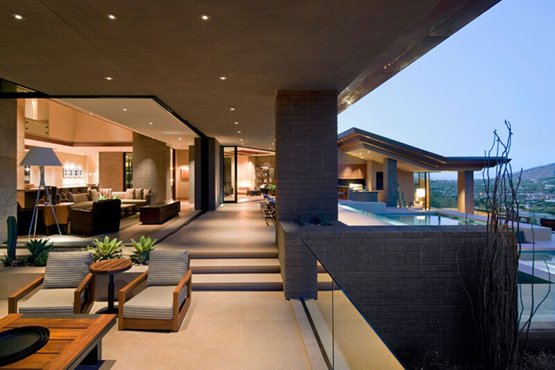 Luxury Home Features dream home in the desert features a luxury design