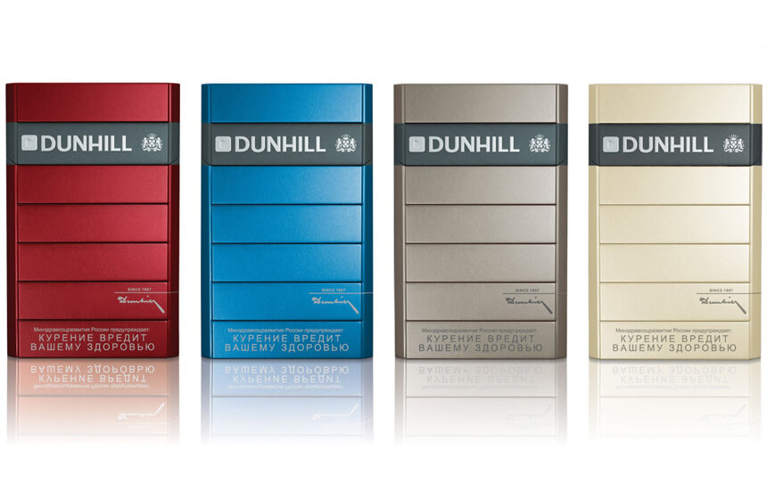 Denver cigarettes Dunhill brands list
