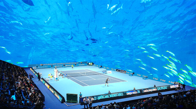 Architect Wants To Build Underwater Tennis Court In Dubai