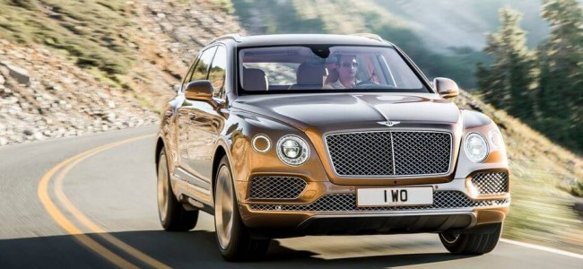 World's Most Luxurious SUV is Out: The Bentley Bentayaga