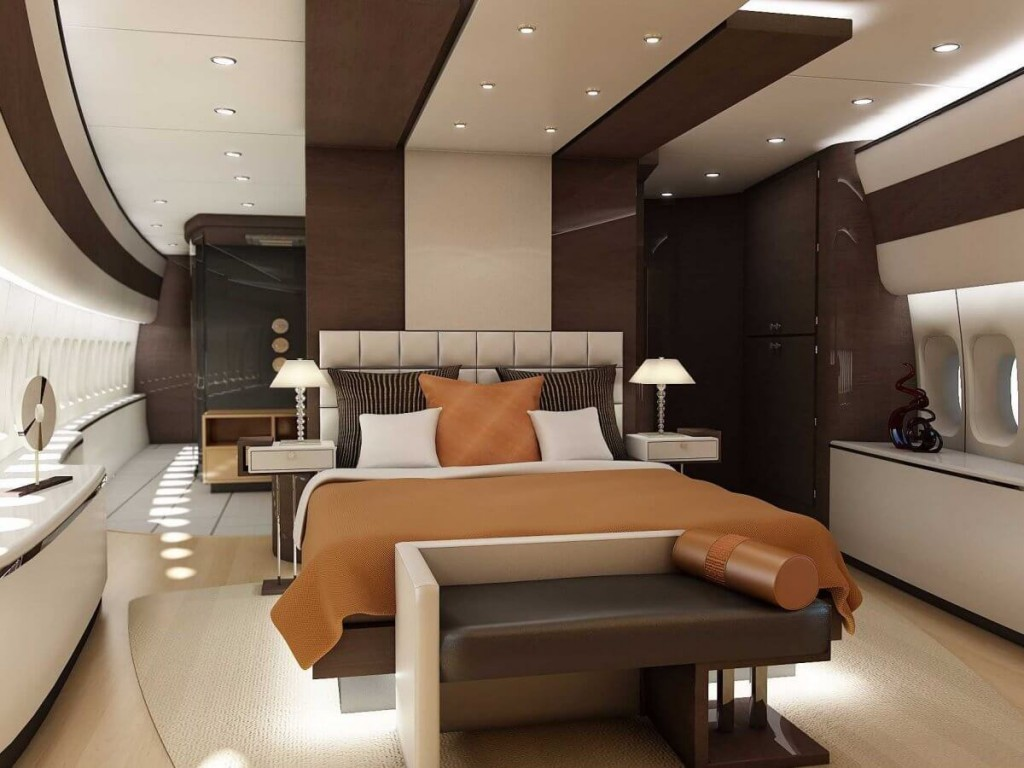 Inside the 367 million jet that will soon be called air for Force interieur