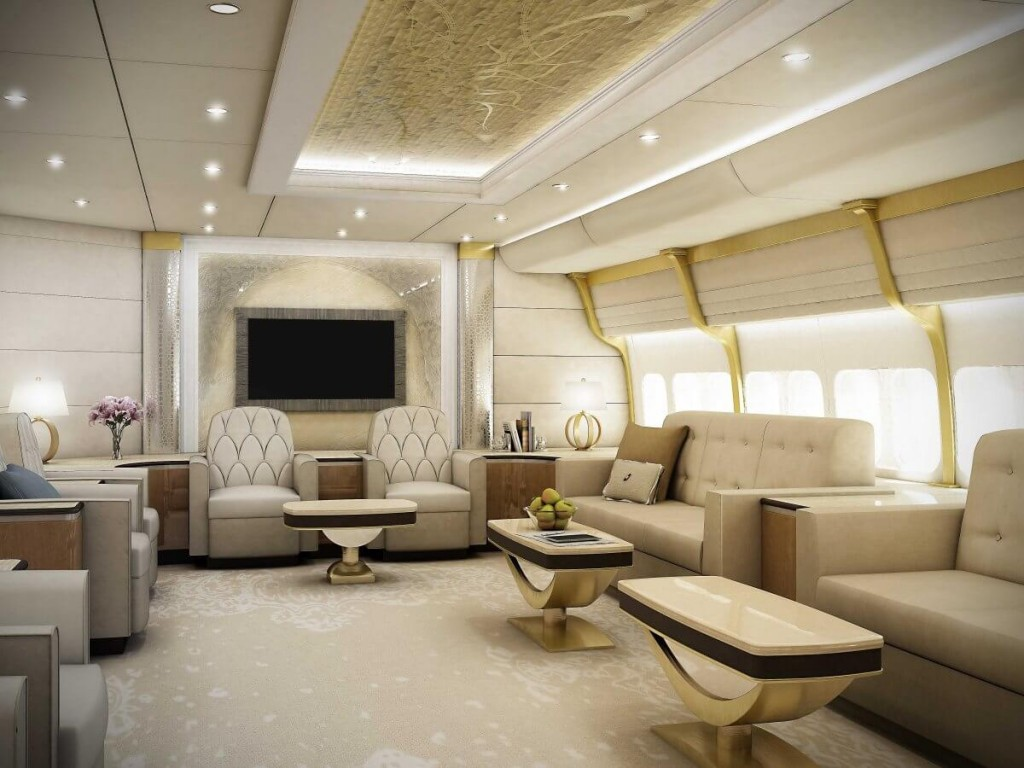See the inside of the new 367 million jet that will be the next air