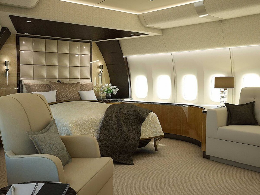 Inside the 367 million jet that will soon be called air Air force one interior