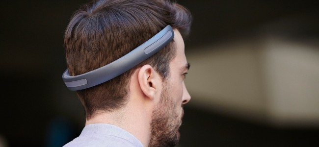 Wireless Batband Headphones Uses Vibrations to Funnel Music Directly Into Your Head