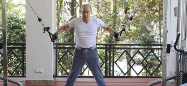 So Apparently Vladimir Putin's Workout Clothes Cost $3,200