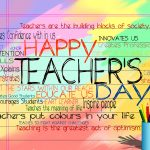 Dear Sir/Madam……………….Happy Teachers Day