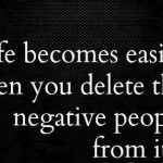 How to deal with backstabbers or negative people..!