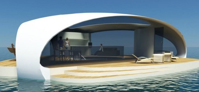 SeaScape Is a Floating Luxury Villa that Gives You Amazing Underwater Views