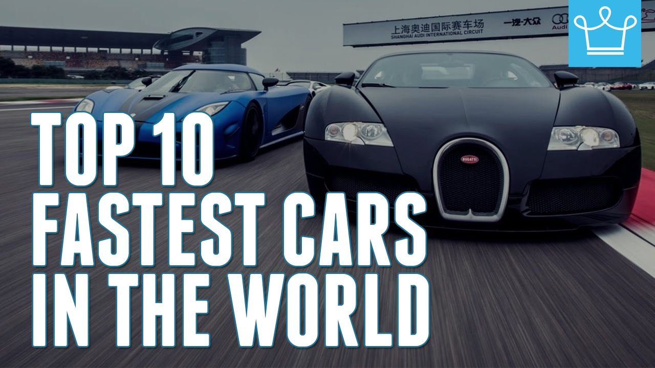 Top 10 Fastest Cars In The World 2015 Alux