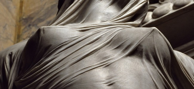 That's NOT Veil, It's Marble! Sculpture by Antonio Corradini