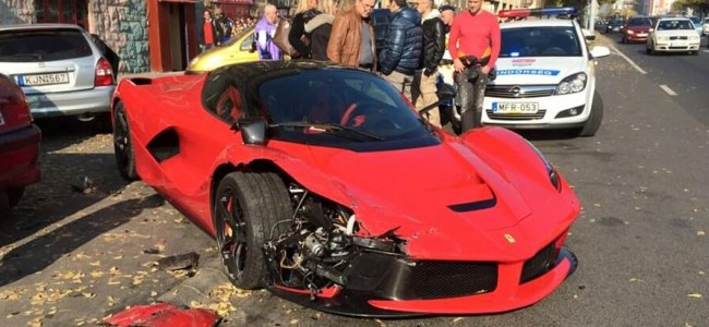 Video: This Driver Crashes $1.4M Ferrari Just Moments After Leaving the Dealership