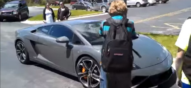 Dad Buys Son A Lamborghini for his 16th Birthday!