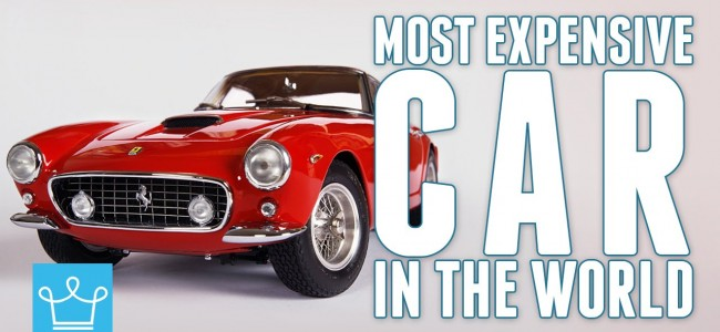 In This Video Alux is Taking a Look at The Most Expensive Car in the World