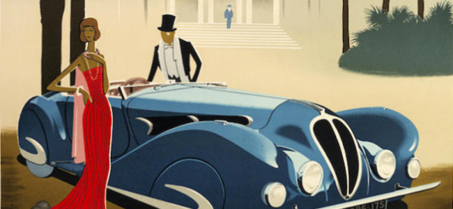 15 Vintage Motoring Posters Are Dripping with Cool