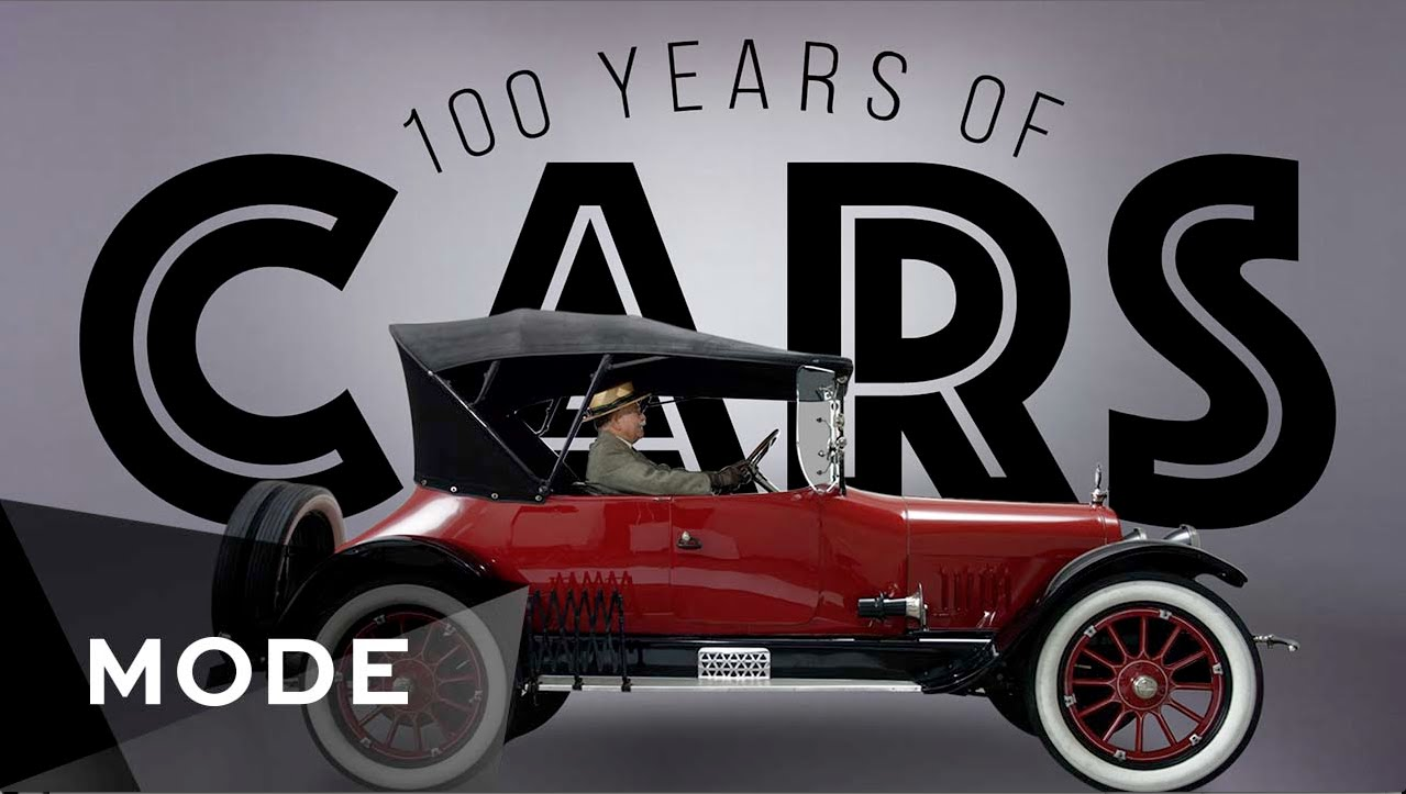 Watch 100 Years of Cars in 3 Minutes