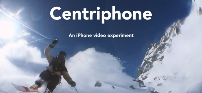 This guy literally swings his iPhone around on a string to create hypnotic videos