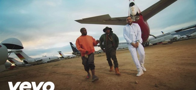 "French Montana Drops ""Figure it out"" With Titans Kanye West & Nas"