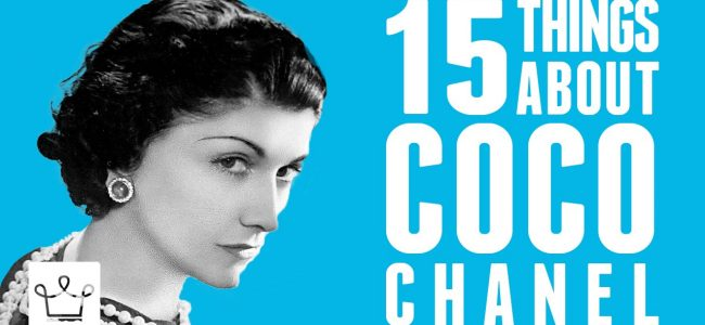 This Video Gives You A Glimpse in the Life of Coco Chanel with 15 Things You Might Now Know
