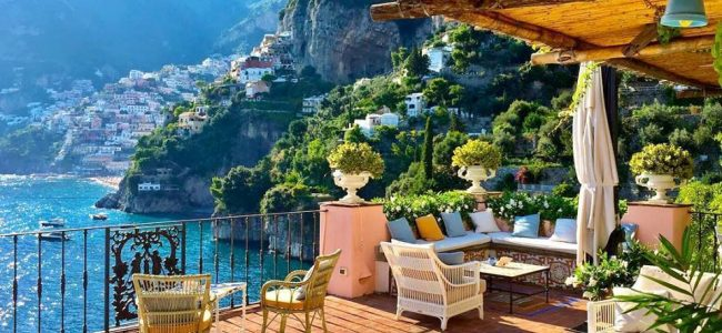 Good morning from the Amalfi coast