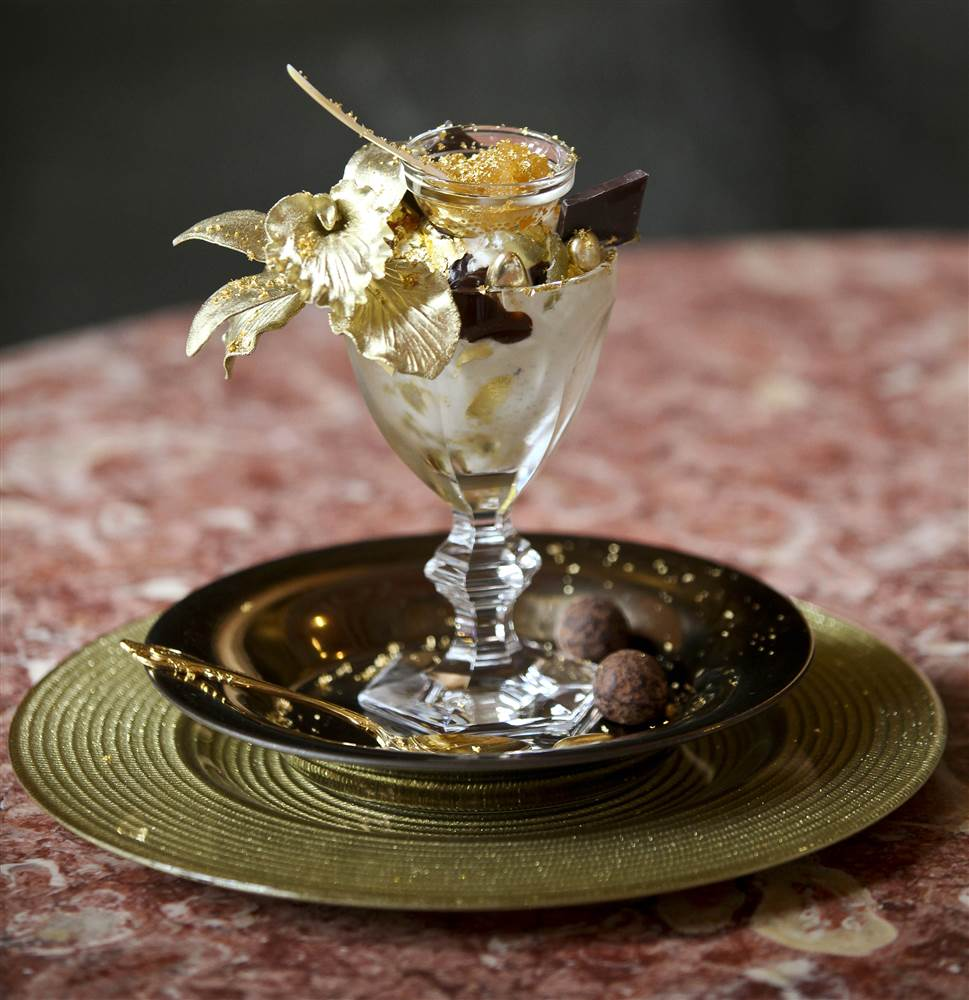 Top 15 Most Expensive Foods in the World | #15. The Golden Opulence Sundae - $1,000