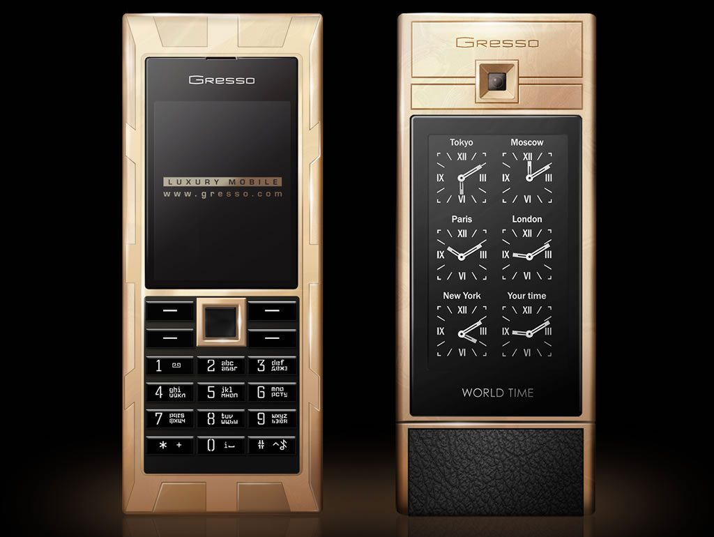 Gresso Luxor Las Vegas Jackpot - Most Expensive Cell Phones