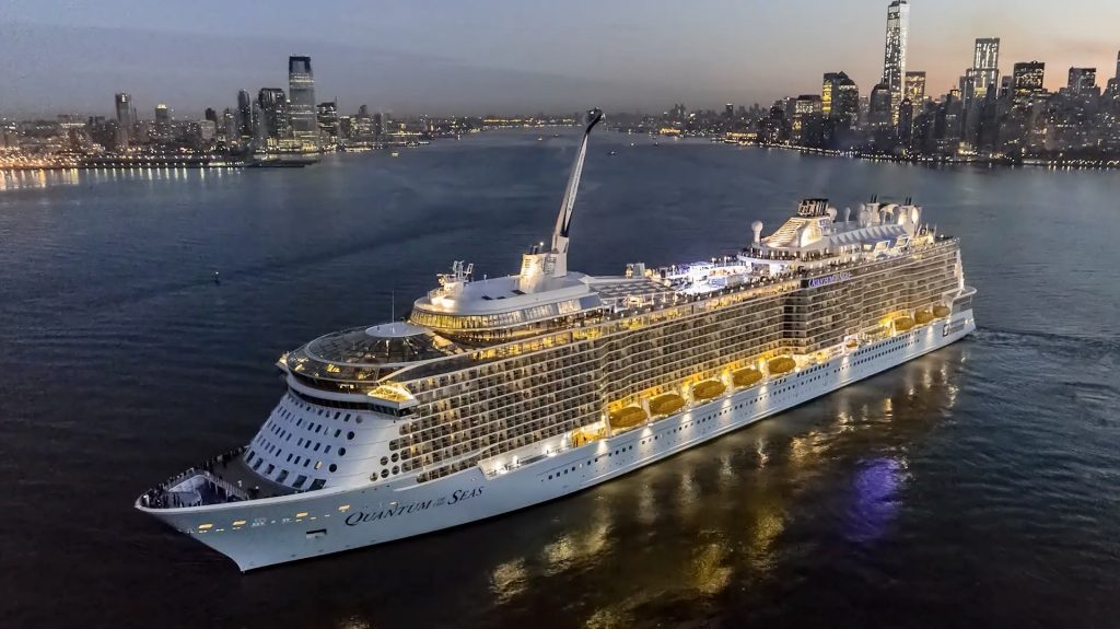 15 Most Expensive Cruise Ships In The World | #7. Quantum of the Seas ($935 million)