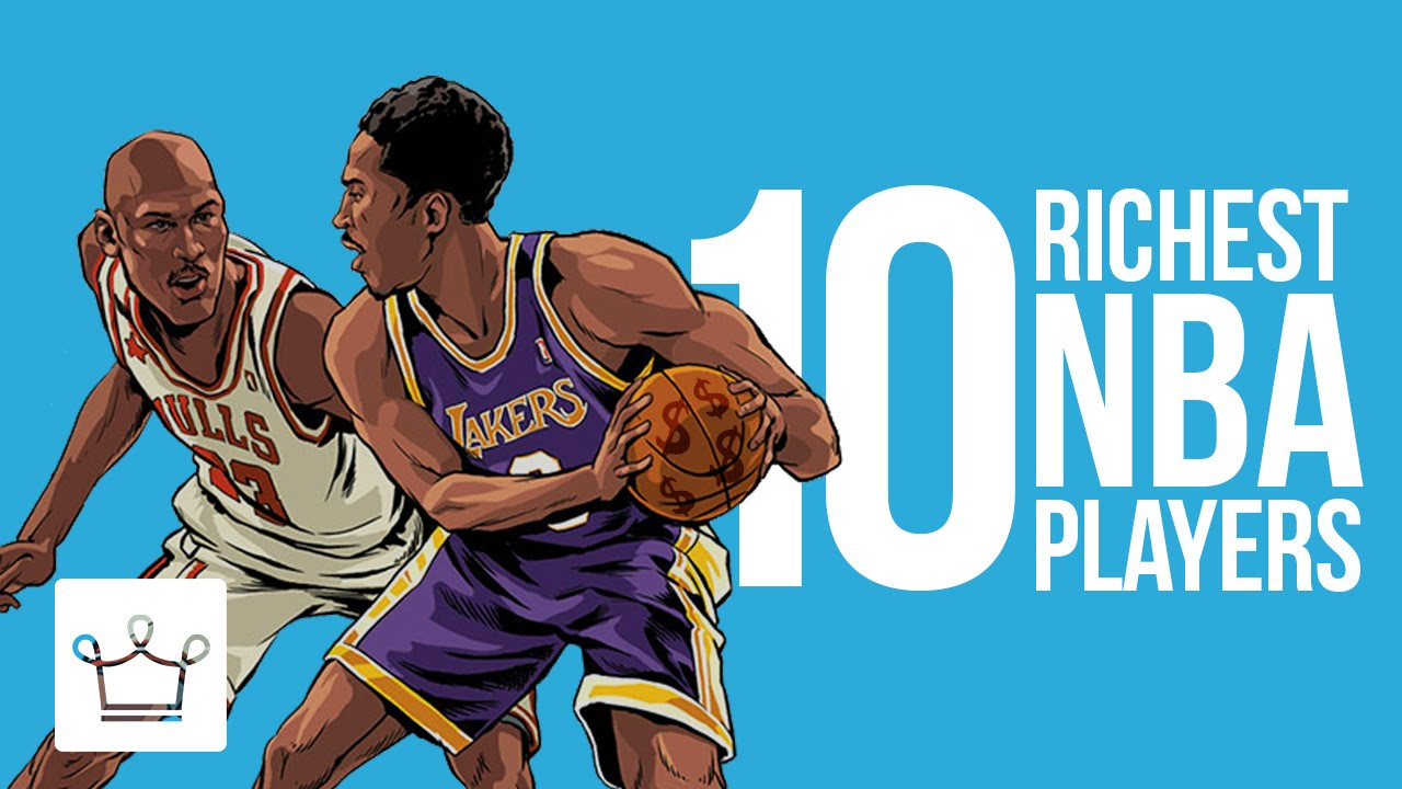 10 Richest NBA Players of All Time – Alux Original Video