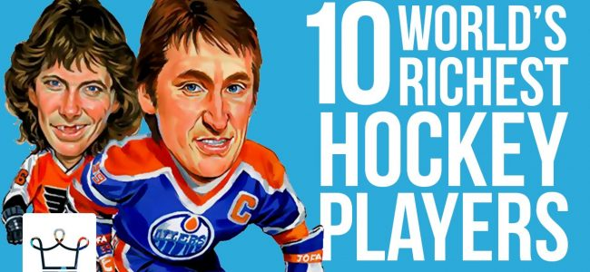 Top 10 Richest Hockey Players in the World – Alux Original Video