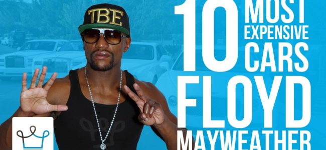 10 Most Expensive Floyd Mayweather Cars – Alux Original Video