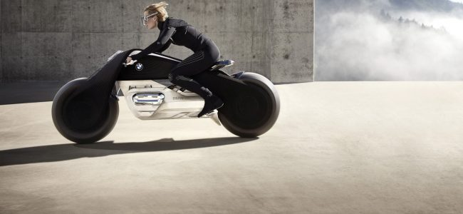 BMW Says this Bike is so Safe to Ride without Helmet. You will never fall off!
