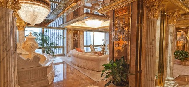 Here is a Sneak Peek of Donald Trump's $100 Million Trump Tower Penthouse
