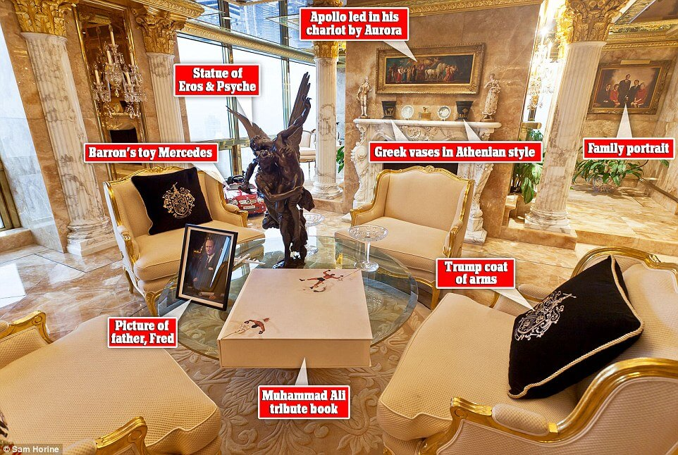 Take a look inside at president trumps 100 million penthouse 4 alux