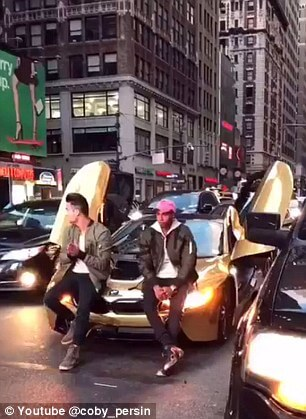 """You Must See the Video of YouTube """"Star"""" Getting His BMW i8 Car Smashed"""