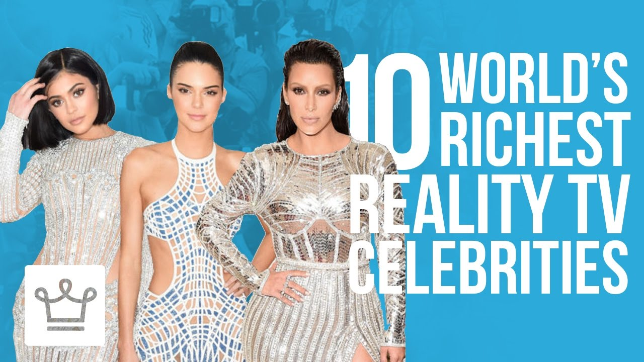 10 Richest Reality TV Stars – Alux Original Video
