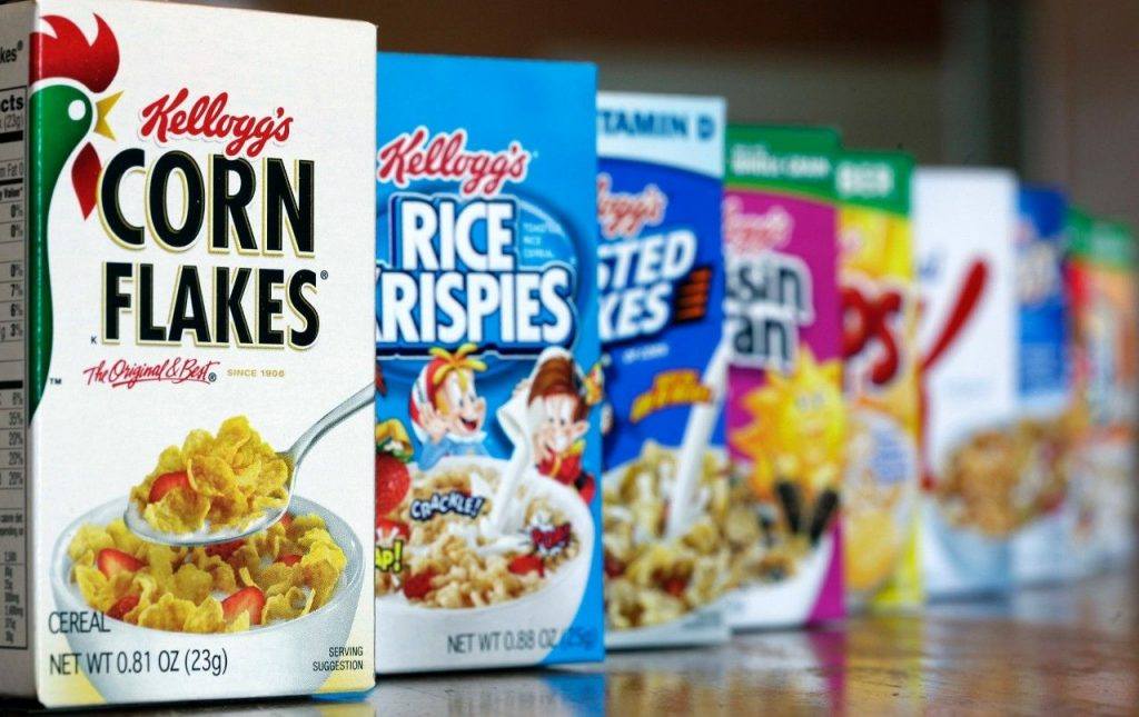 15 Top Companies that Control Everything You Consume | #15. Kellogg (Sales Revenue: $13.5 billion)