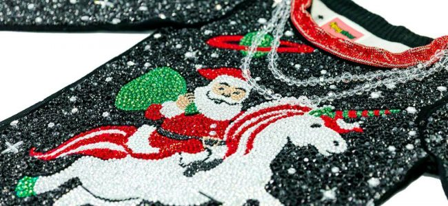 Tipsy Elves Created the Most Expensive Ugly Christmas Sweater