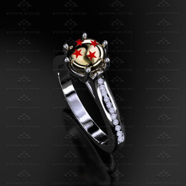 Get Your Movie-Themed Engagement Ring from Sapphire Studios Design
