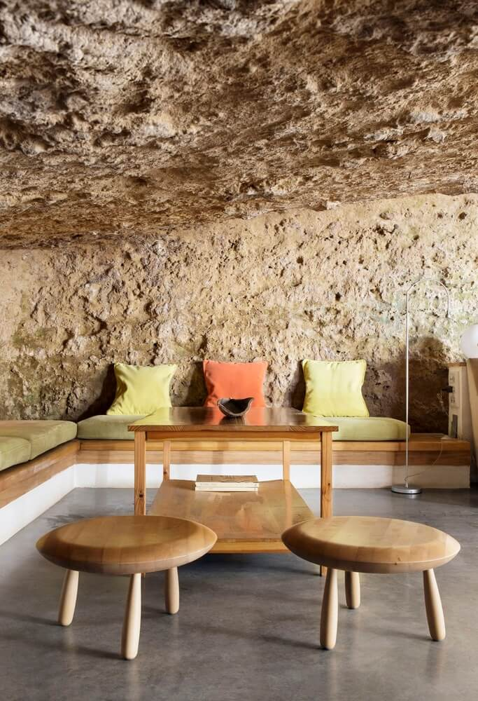 House Cave Is a Stunning Living Space Built into the Side of a Mountain