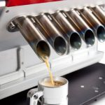 Espresso Veloce Created a Line of Coffee Machines that Look like Car Engines