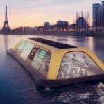 This Floating Gym in Paris is designed to be powered by Human Energy