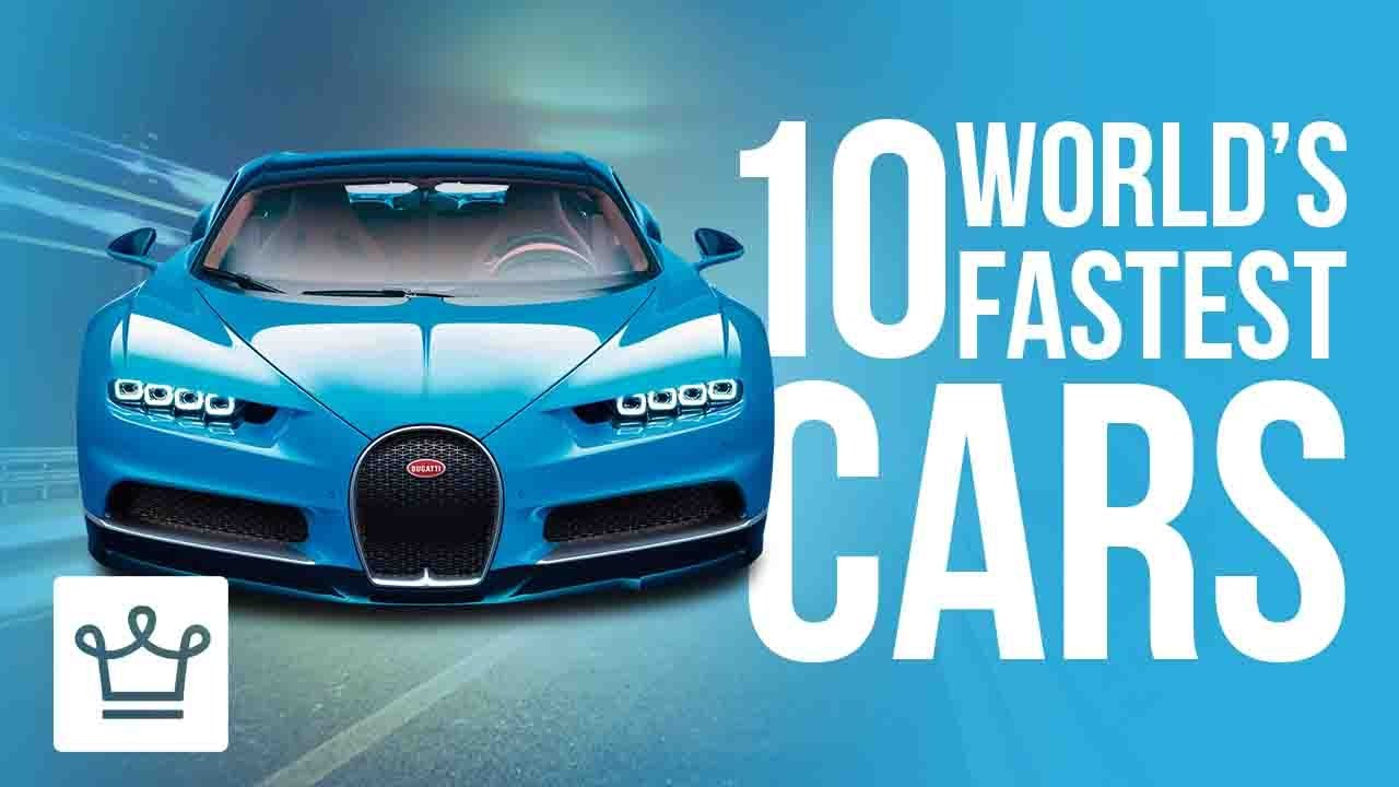 Top 10 Fastest Cars In The World 2017 - Alux.com