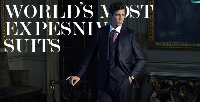 Most Expensive Suits in the World (Ranked Top 15) - Alux.com