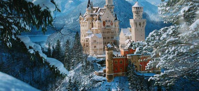 Fairy Tale Castle: Neuschwanstein Castle