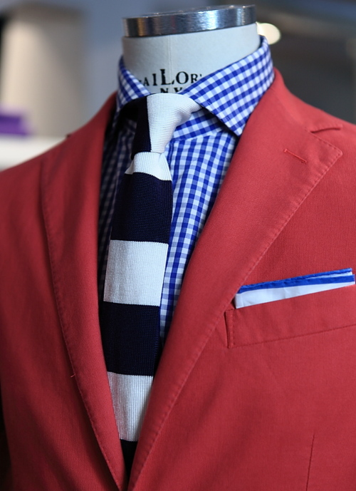Red Jacket in trends for Summer-Autumn 2013