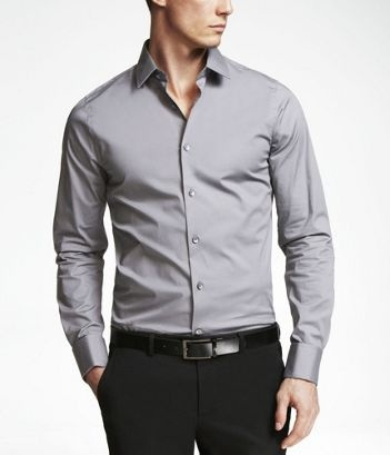 CAST IRON 1MX EXTRA SLIM FIT FRENCH CUFF SHIRT