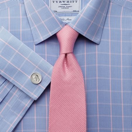 Dress shirts for men 2013 men fashion trends for Pink shirt tie combo
