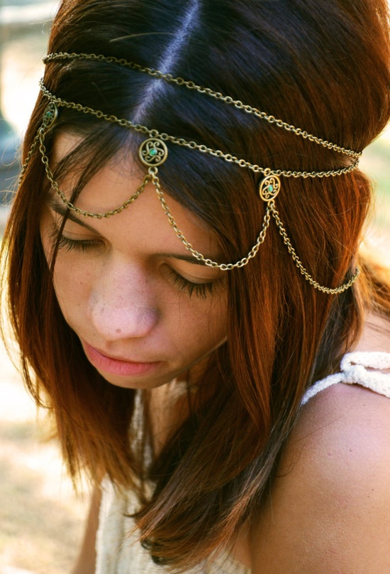The first thing you should try: adding a few hair accessories. Barrettes and bobby pins can make a fun statement without the commitment, and they don't take a lot of skill to pull off at home.