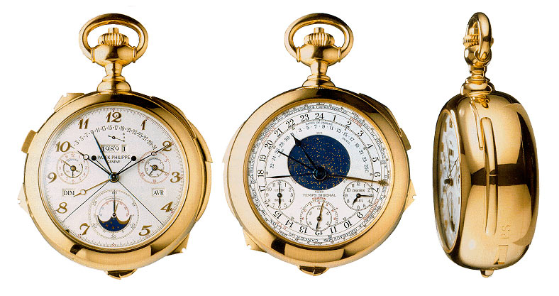 Worlds Most Expensive Watches | #2 PATEK PHILIPPE - HENRY GRAVES - POCKET WATCH $ 11.000.000
