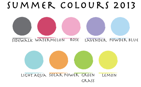 Summer Dresses Fashion Trends 2013 colours