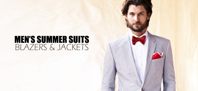 Men's Summer Suits 2013: Blazers & Jackets